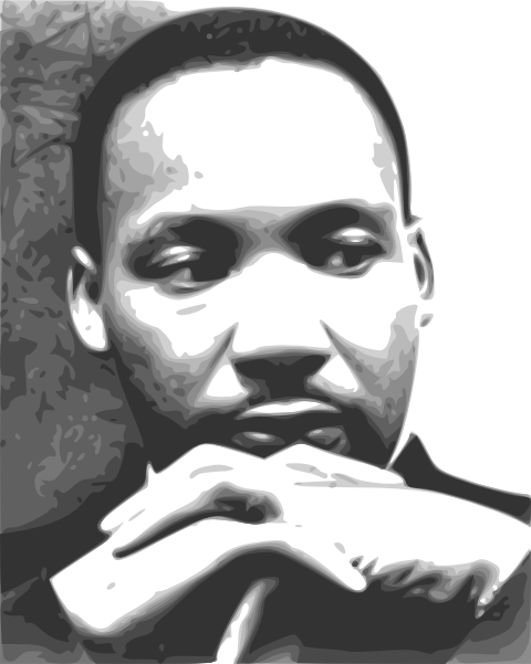Martin Luther King Jr  Clip Art At Clker Com   Vector Clip Art Online