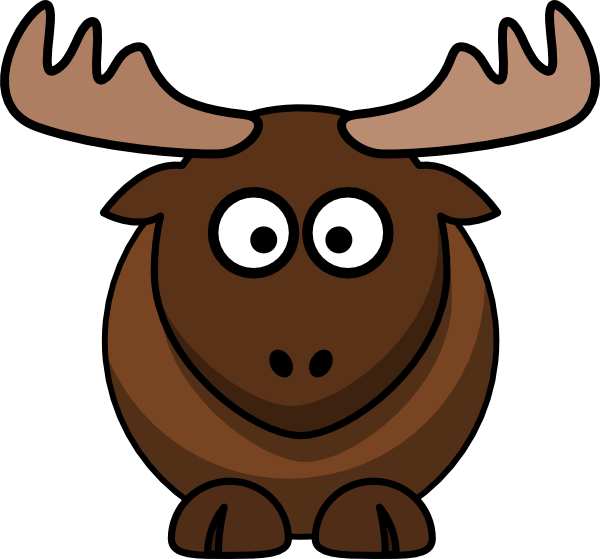 Moose Clip Art At Clker Com   Vector Clip Art Online Royalty Free