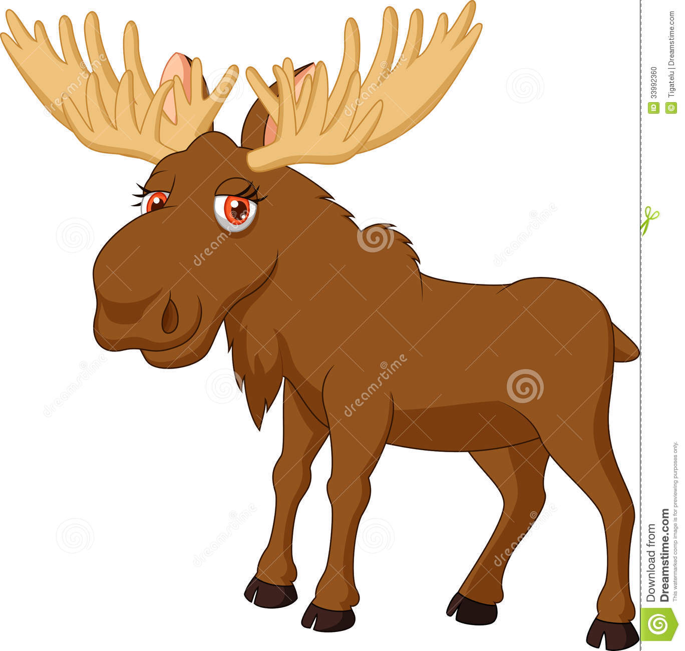 Moose Clipart Black And White   Clipart Panda   Free Clipart Images