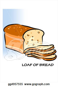 Stock Illustration   Loaf Of Bread  Clip Art Gg4957555   Gograph