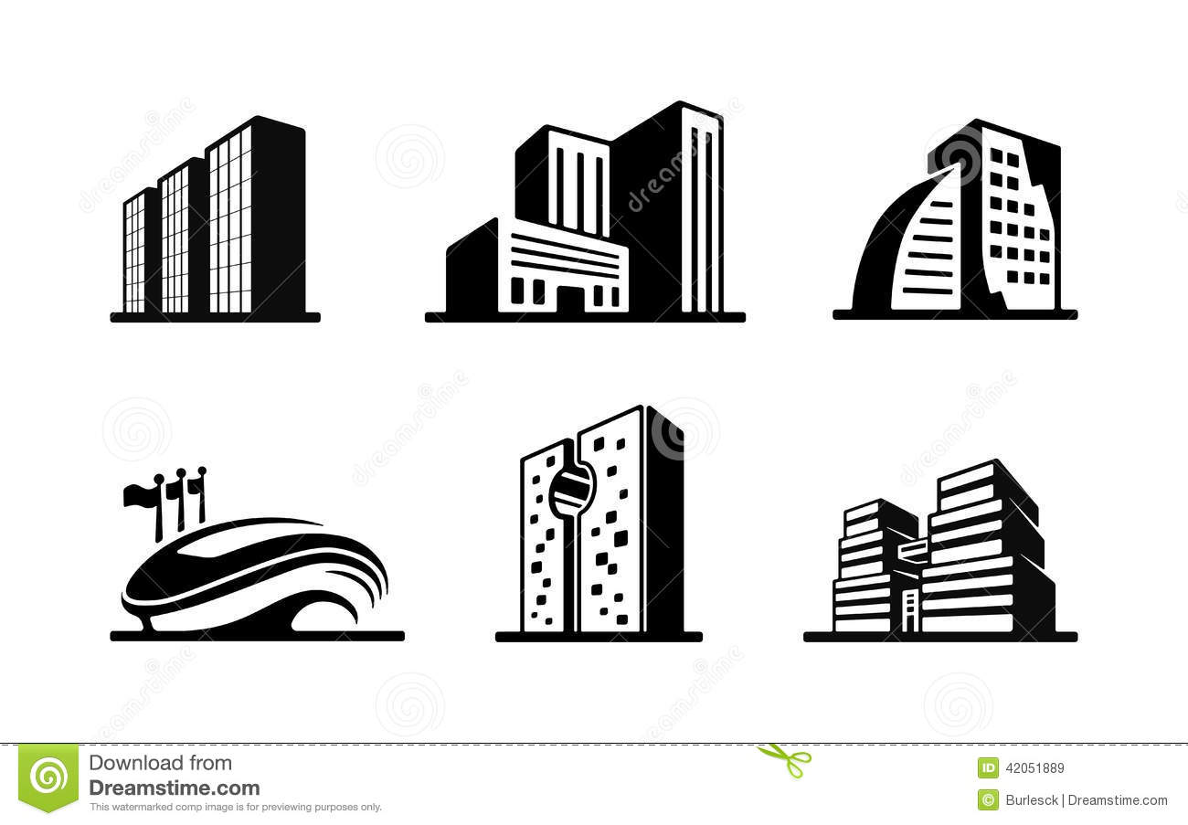 Office Building Black And White Clipart - Clipart Suggest