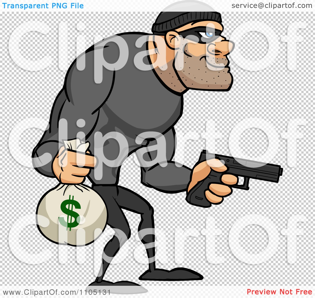 Bank Robbery Clipart - Clipart Kid