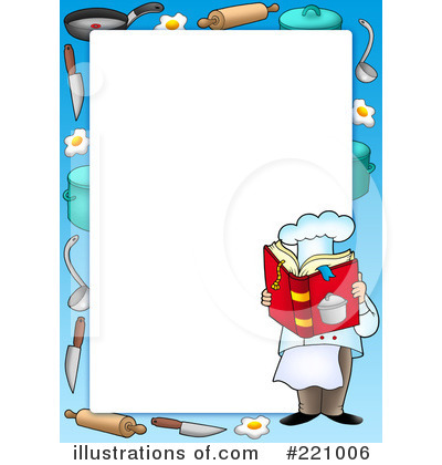 Chef Clipart  221006 By Visekart   Royalty Free  Rf  Stock