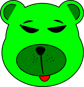 Green Bear Clip Art  Png And Svg