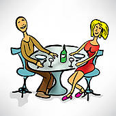 Lunch Date Illustrations And Clipart  52 Lunch Date Royalty Free