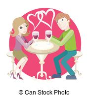 Lunch Date Vector Clip Art Illustrations  103 Lunch Date Clipart Eps