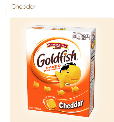 Pepperidge Farm    Cheddar Goldfish