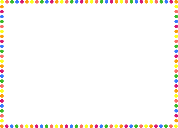 Polka Dot Frame Clipart - Clipart Kid