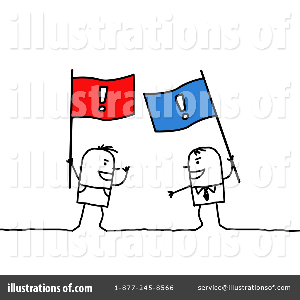 Royalty Free Rf Argument Clipart Illustration By Nl Shop Stock Sample