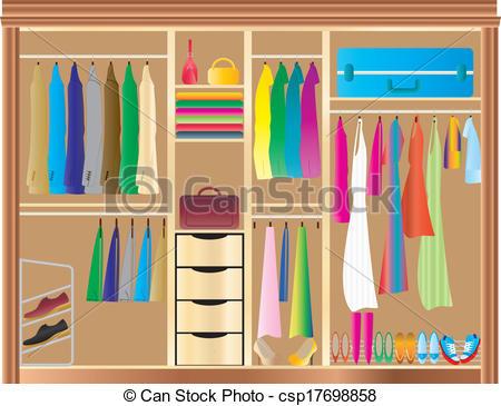 Clip art cartoon wardrobe clipart clipart suggest for Closet icon