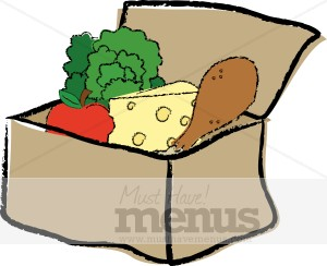 Word Tweet Boxed Lunch Clipart Charming And Delectable A Boxed Lunch