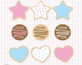 Art   Digital Files Png And Jpeg   Clipart   Cookies   Sugar Cookie