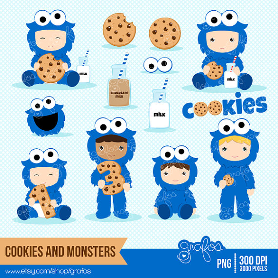 Cookie Monster Clip Art Cliparts