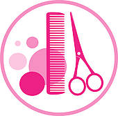 Showing post & media for Hairdresser clip art symbols | www ...