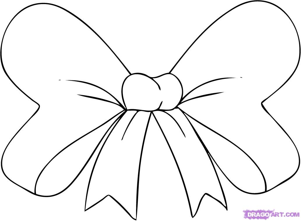 How To Draw A Hair Bow Step By Step Stuff Pop Culture Free Online
