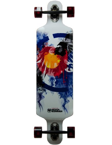 Never Summer Longboard Clutch Colorado Limited 39  Complete