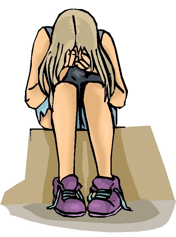 Sad Teenage Girl Clipart   Clipart Panda   Free Clipart Images