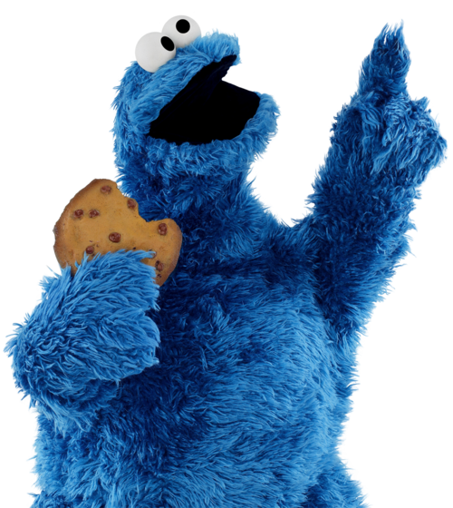 Baby Cookie Monster Png