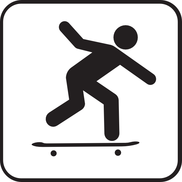 Skateboarding Clip Art At Clker Com   Vector Clip Art Online Royalty