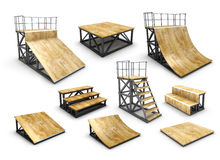 Skatepark Stock Vectors Illustrations   Clipart