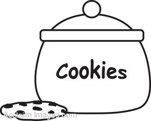 Sugar Cookie Clipart Black And White   Clipart Panda   Free Clipart