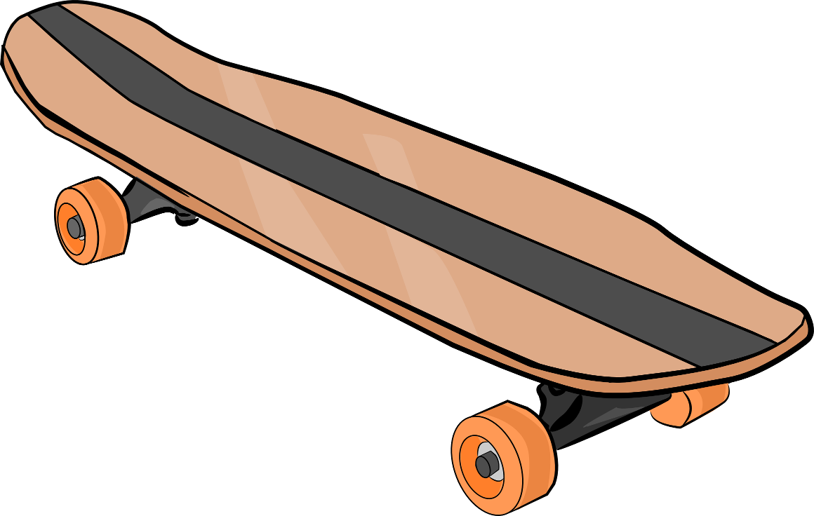 The Totally Free Clip Art Blog  Sports   Skateboard