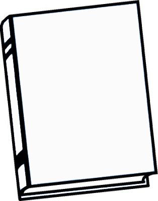 Clip Art Book Template Clipart - Clipart Kid
