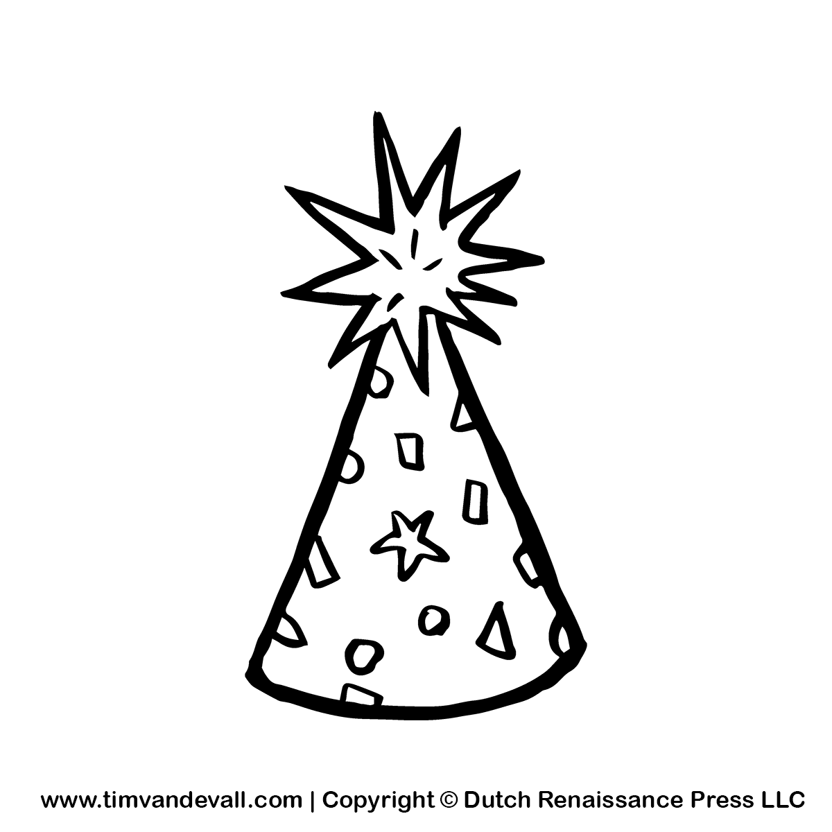 Black And White Birthday Party Clipart - Clipart Suggest