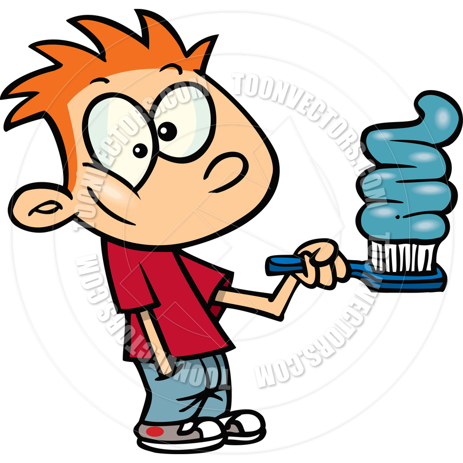 Boy Brushing Teeth Clipart   Clipart Panda   Free Clipart Images