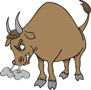 Clip Art Bull Clip Art cartoon bulls clipart kid bull cliparthut free clipart