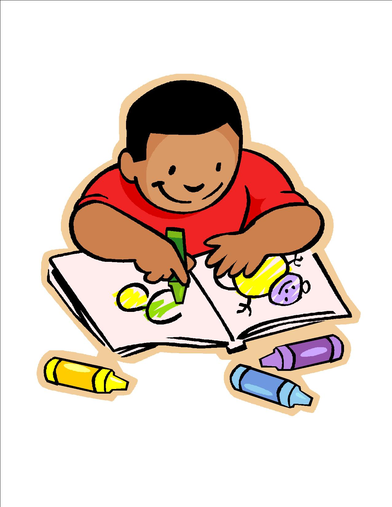 Children Writing Clipart Clip Art 4
