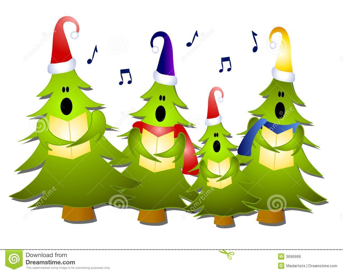 Clip Art Christmas Carolers Clipart christmas singing clipart kid clip art illustration of a group tree carolers singing