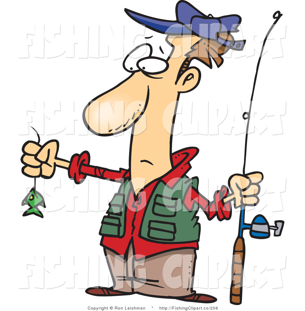 Funny Fishing Clipart - Clipart Kid