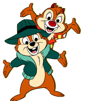 Clipart   Chip And Dale Clipart