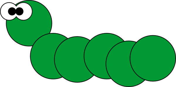 Cute Caterpillar Clipart