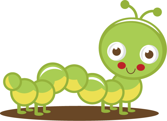 Cute Caterpillar Clipart - Clipart Kid