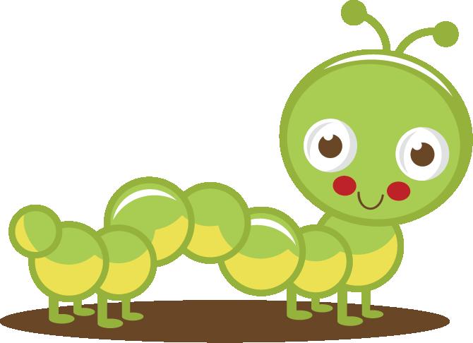 Cute Caterpillar Clipart - Clipart Kid