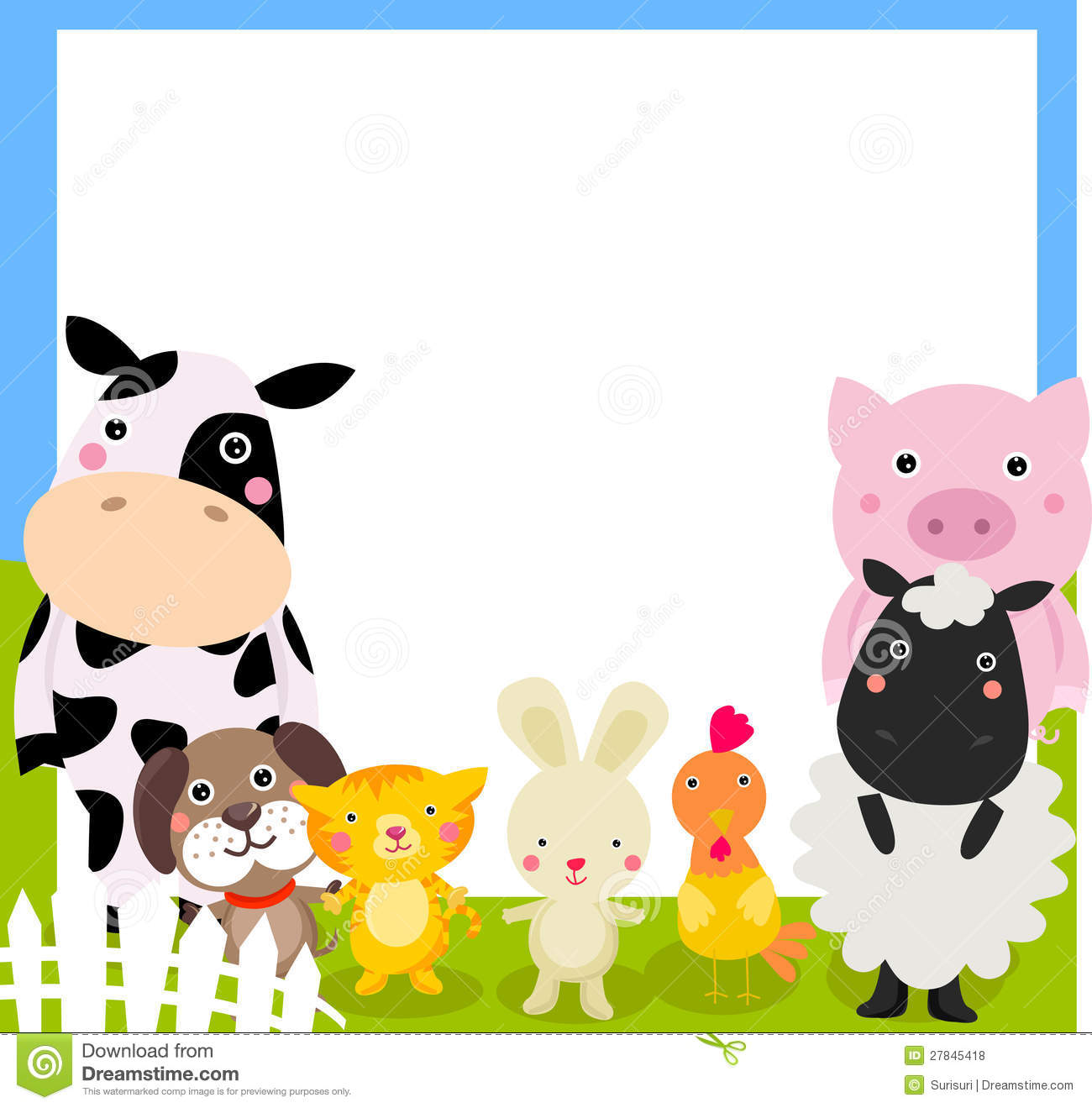 Farm Border Clipart - Clipart Kid