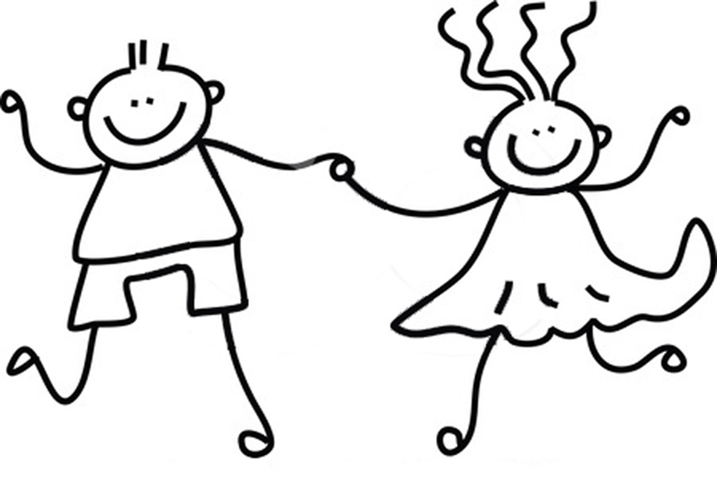 Free Rf Clipart Illustration Of A Childs Sketch Of A Black And White