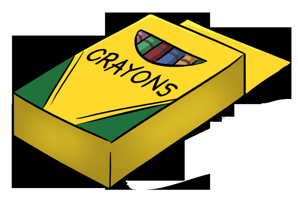 Box Of Crayons Cartoon Clipart - Clipart Kid