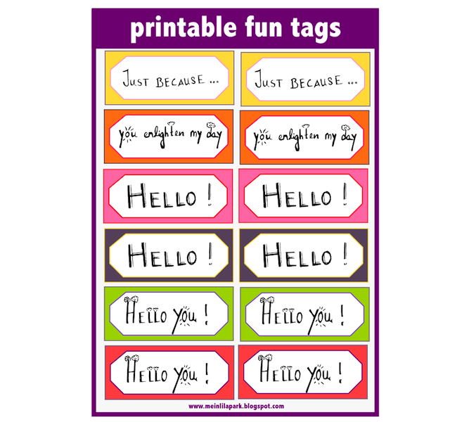 Printable Fun Word Art Tags And Diy Stickers   Ausdruckbare Clipart