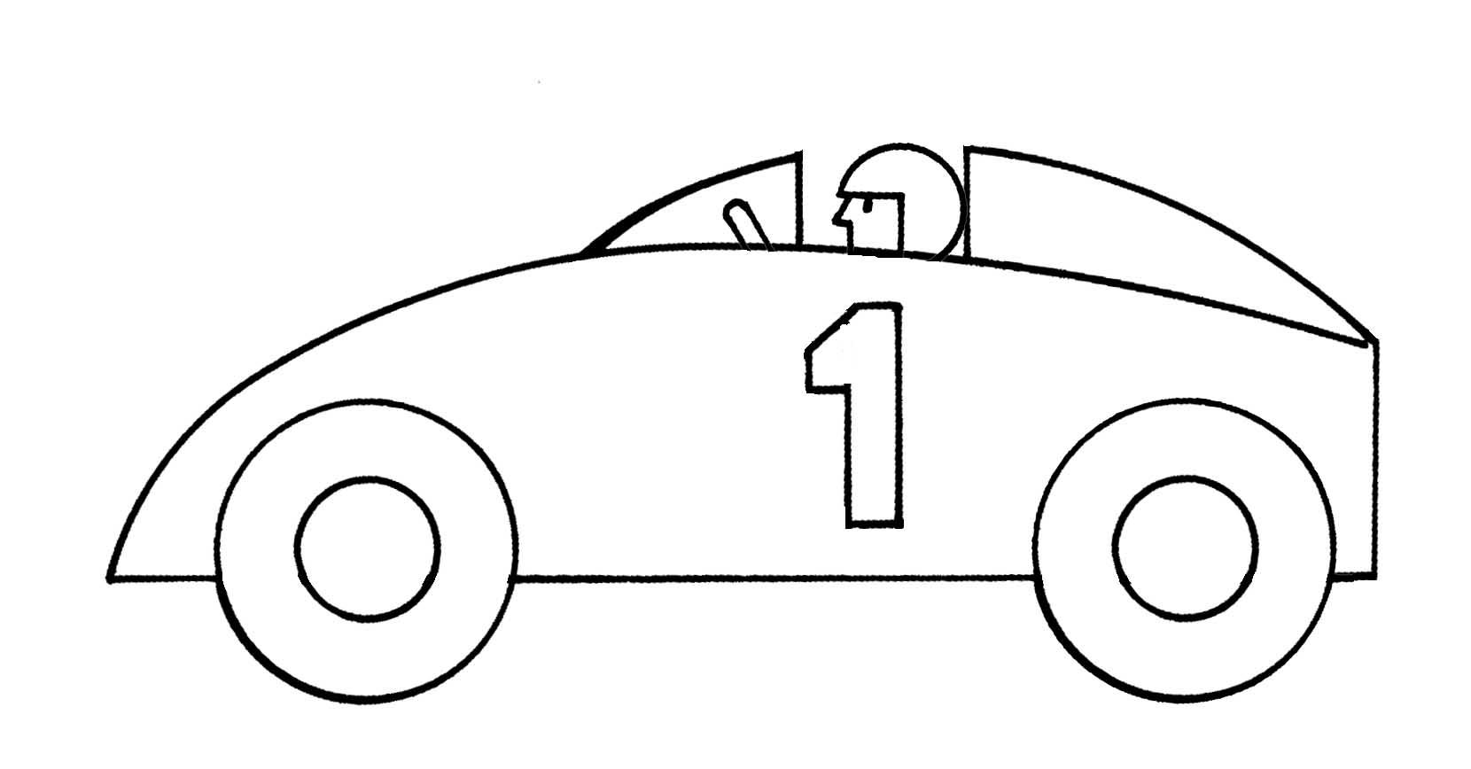 Race Car Clipart - Clipart Kid