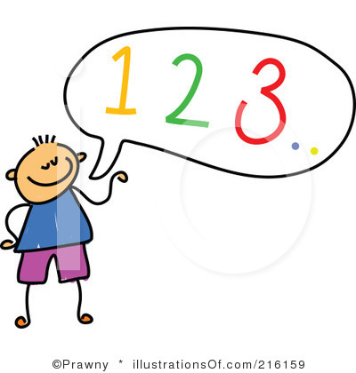 Rf  Numbers Clipart