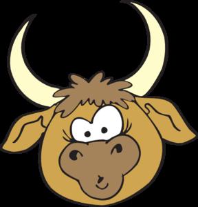 Clip Art Bull Clip Art cartoon bulls clipart kid shocked bull clip art at clker com vector online royalty