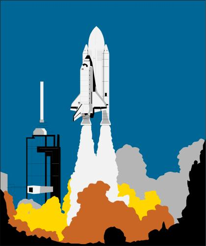 Rocket Launch Pad Clipart - Clipart Suggest