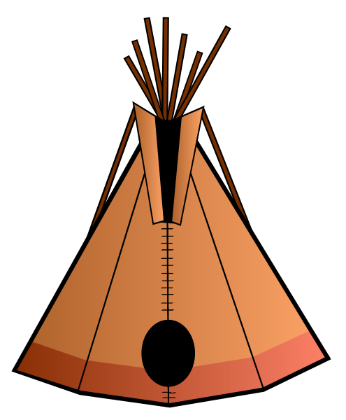 Teepee 2   Http   Www Wpclipart Com Buildings Homes Teepee 2 Png Html