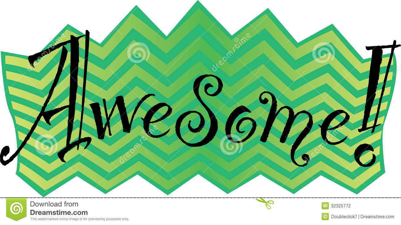 The Word Fun Clipart The Word Awesome  In A Fun And