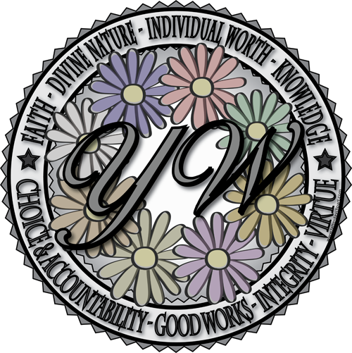 Young Women Flower Seal 500 501