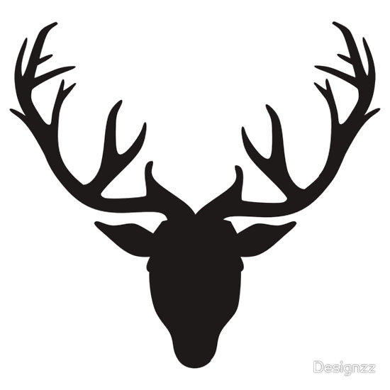 Deer Antlers Clipart Black And White   Clipart Panda   Free Clipart