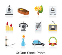 Funeral Illustrations And Clip Art  2402 Funeral Royalty Free